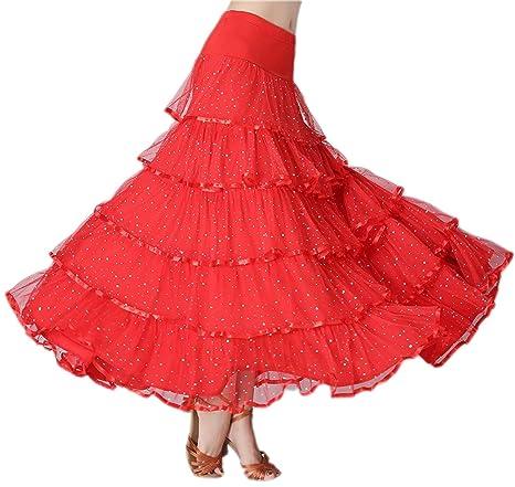 JTSYUXN Las Mujeres Elegante Salón De Baile Latina De La Danza del ...