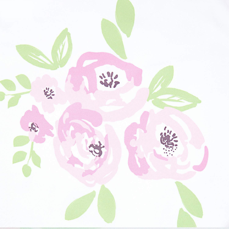 Baby Bedding Sheet /& Pillowcase TILLYOU 3-Piece Microfiber Toddler Sheet Set for Girls Elephant, Fitted Sheet, Top Flat Sheet and Envelope Pillowcase - Silky Soft Crib Sheets Set Toddler Bed Set