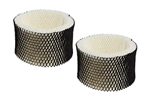 2 Pack Holmes HWF62 Humidifier Filter replacement for Holmes Models HM1701, HM1761, HM1300 & HM1100; Compare to Part # HWF62, HWF62D