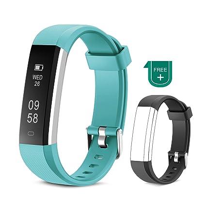 60fadb1a94 Muzili Fitness Armband Wasserdicht Fitness Tracker Sport Armband Fitness  Uhr Aktivitätstracker mit Schrittzähler/Schlafmonitor/Anruf Nachricht ...