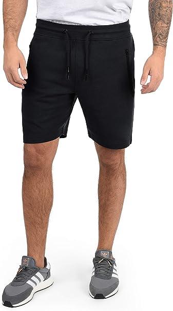 Solid Taras Pantalón Corto Chándal Sweat- Bermudas para Hombre