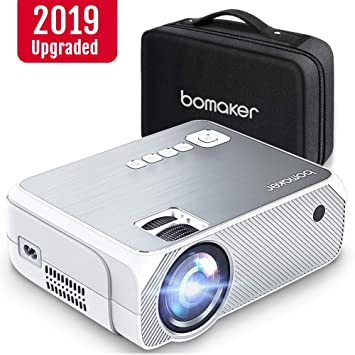 Proyector bomaker. 3600 lúmenes, Portátil HD 1280 X 720p, 1080p ...