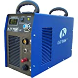 "Lotos LTP7000 70Amp Non-Touch Pilot Arc Air Plasma Cutter, 7/8"" Inch Clean Cut"