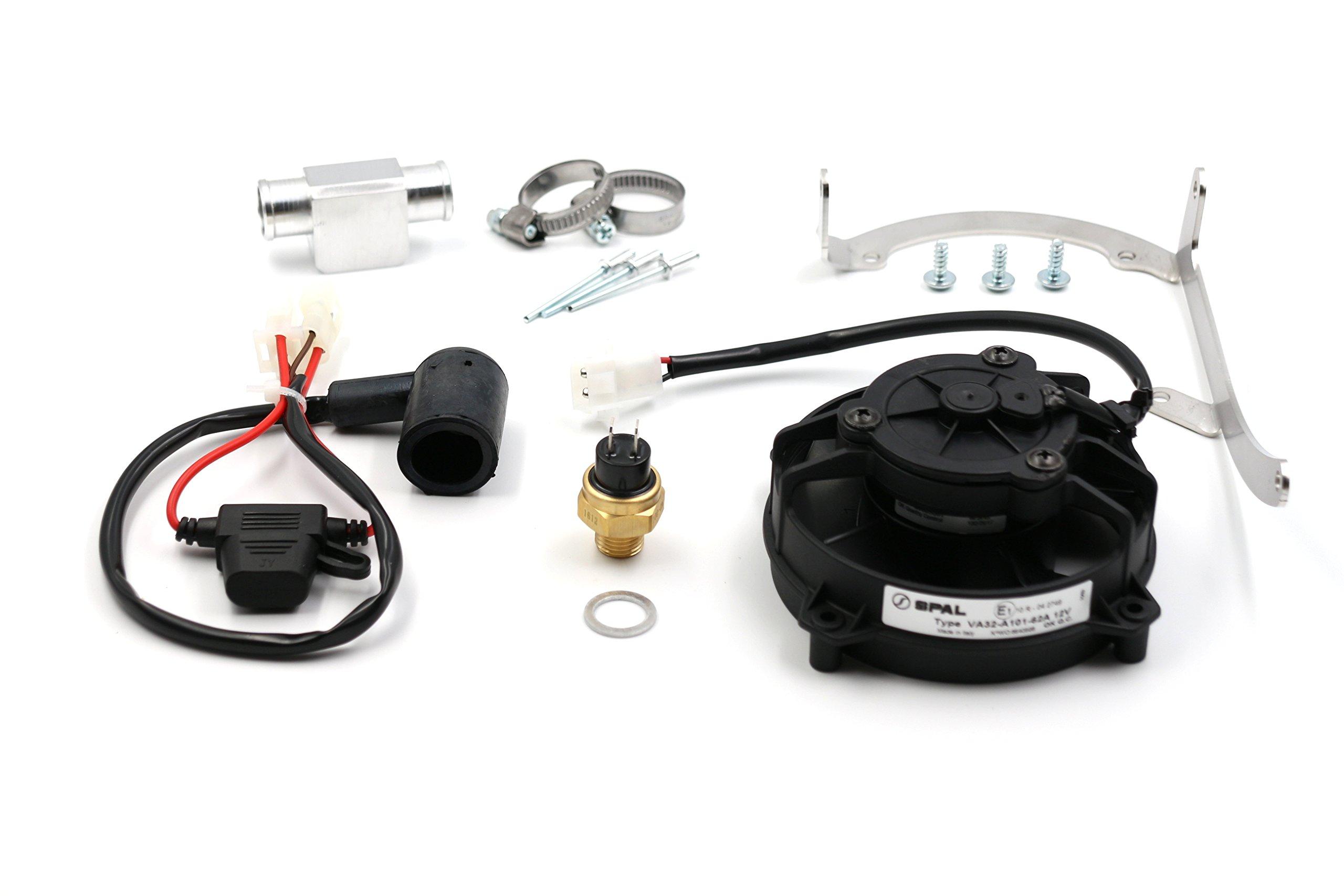 Axial Fan, Original Spal Ventilator for KTM, HUSQVARNA, HUSABERG 2STROKE from 2008-2016
