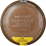 Wet n Wild Color Icon Collection Bronzer SPF 15, Ticket To Brazil [739], 1 ea (Pack of 2)