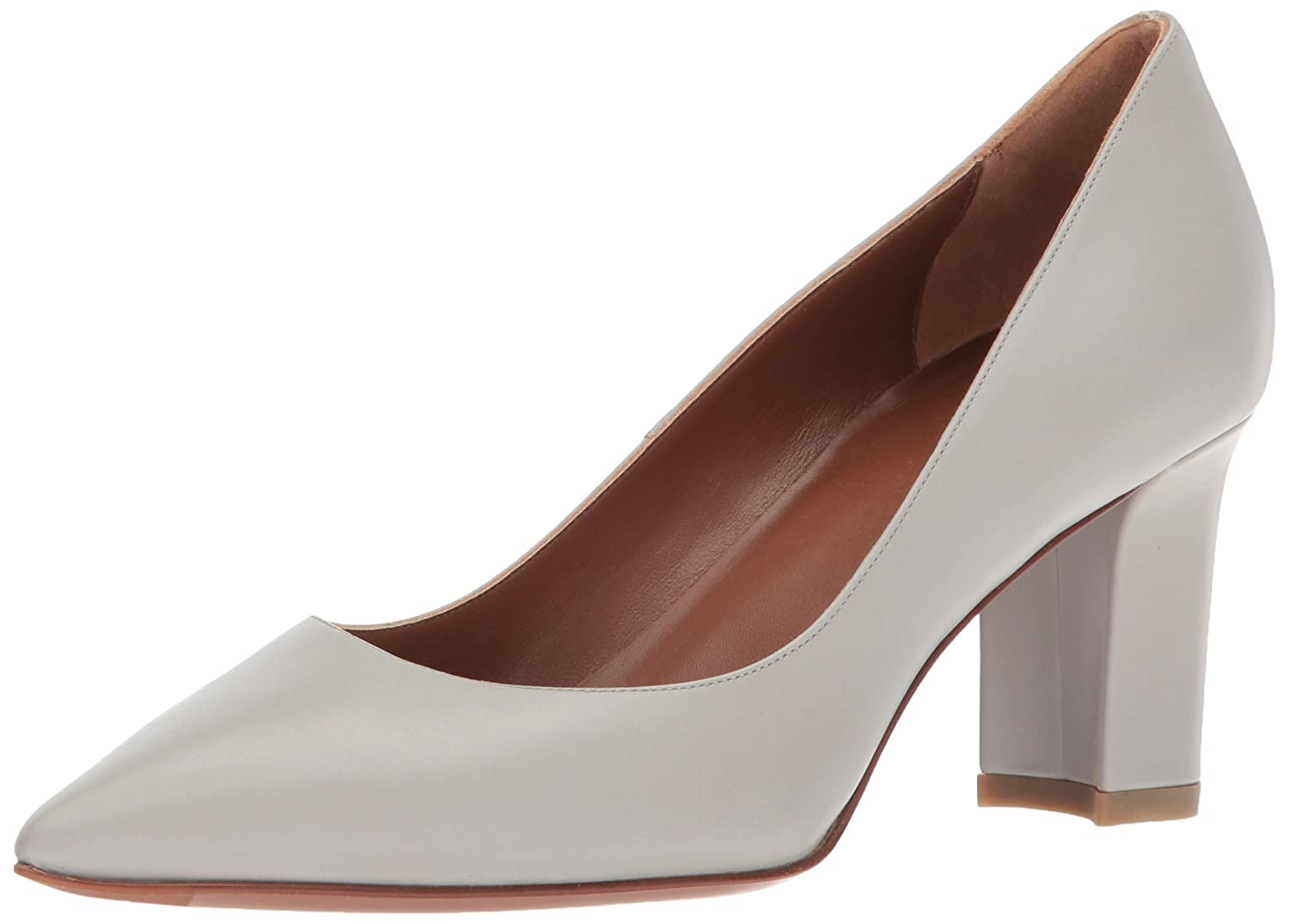 Aquatalia by Marvin K. Women's Michaela Anil Calf Dress Pump B077H8HLR3 7 B(M) US|Pearl