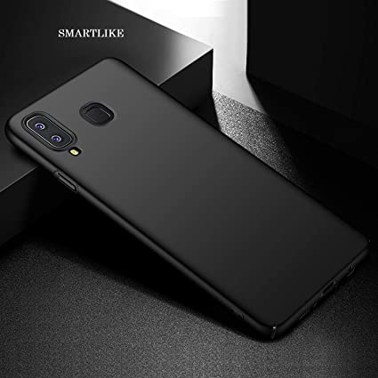 the latest 22ef3 ce93e SmartLike Silicon Back Cover for Samsung Galaxy A8 Star (A9 Star) - Black