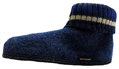 3aad0d107af Size 6 Haflinger Men s Huttenschuh Paul Boiled Wool Slipper Boots ...