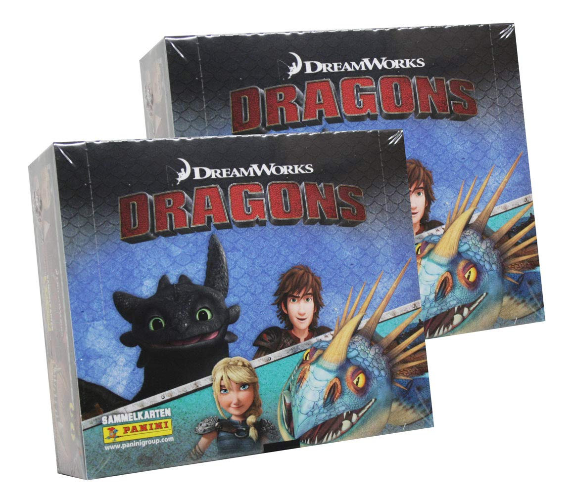 Panini - Dragons Trading Cards Serie 4 (2018) - 2 Display (48 Booster)