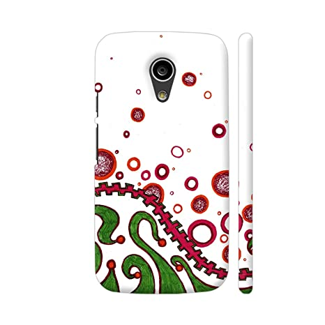 watch a4703 4edc6 Colorpur Tribal Dance Printed Back Case Cover for Moto: Amazon.in ...