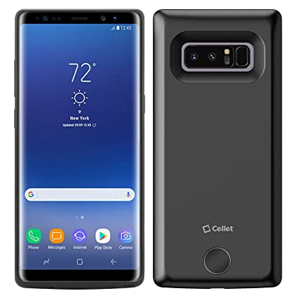 Amazon.com: Samsung Galaxy Note 8 Carcasa de batería 6500 ...