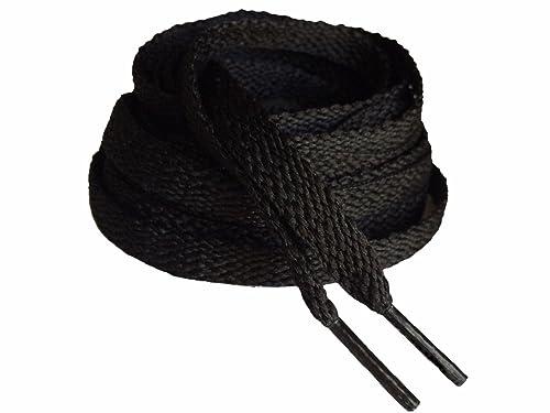 96d313a2bf4d0 Black Flat Athletic Shoelaces 54