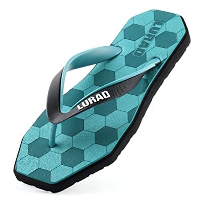 23f8f190e98 Homme Chaussure Été Tongs en PVC Plage Sandales Cuir Souple Bout Carré  Sandales de Plage Tongs