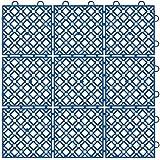 山崎産業 ニューマフロス (本駒) ブルー