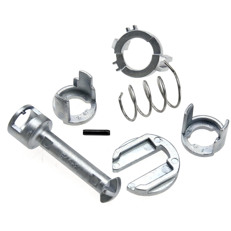 Creative-Idea Kit Ré paration de Cylindre Verrouillage Porte Avant Lè ve Vitre LPC Remplacement pour Voiture, 51217019973