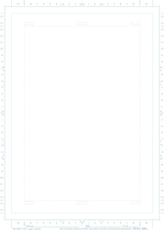 B4 thin 110KG IM-10B Icy manga manuscript paper
