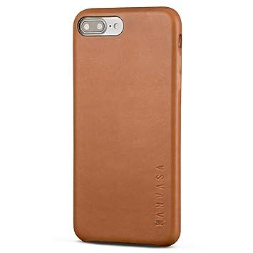 coque iphone 7 plus cuir marron