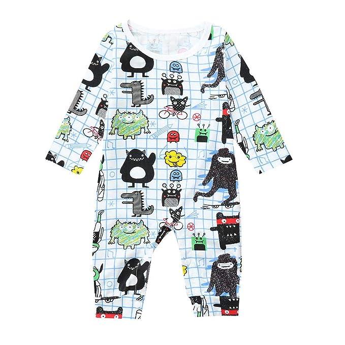 Xmiral Pijama Enteros Peleles Recien Nacido Mameluco Estampado Dibujo Animado Traje Monos Algodón Regalo Suave Amarillo 3-18 Meses: Amazon.es: Ropa y ...