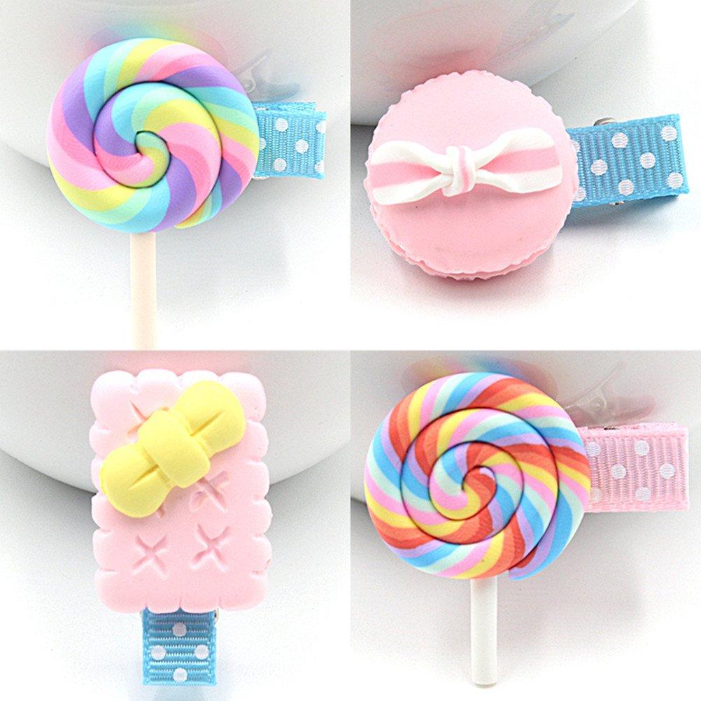 cuhair New 4Cute Candy Kid Girl Haar-Clip Haarspange Haarspange Haar Zubehör cutrade