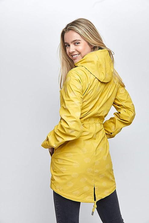 """Mazine – damska kurtka przeciwdeszczowa """"Library Rain Parka"""" – Streetwear Fashion Summer Spring Design: Odzież"""