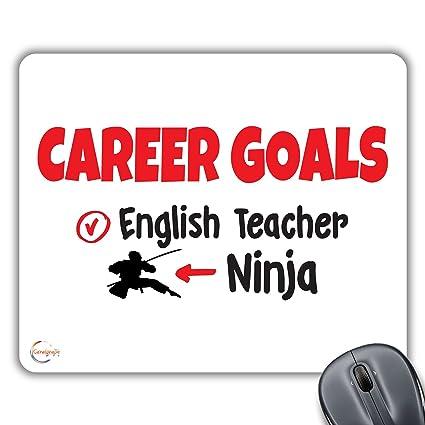 CP490 Carrera objetivos profesor de Inglés/Ninja novedad ...