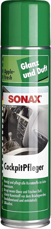 Sonax Cockpitpfleger Apple Fresh 400 Ml Reinigt Und Pflegt Alle Kunststoffteile Im Auto Art Nr 03443000 Auto