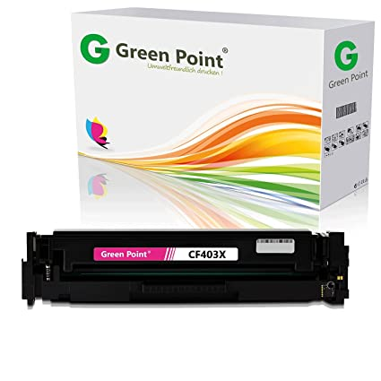 Green Point Toner compatible con HP 201 x cf403 X Color LaserJet ...