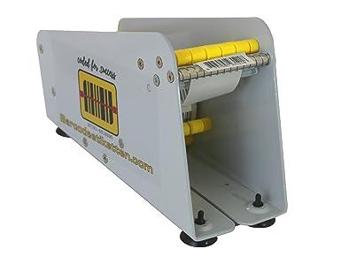 Etiquetas dispensador manual etiquetas dispensador BCE TT de 75 dispensador etiquetas adhesivas mesa dispositivo 75 mm