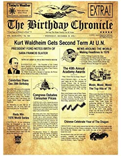 Amazon com: The Birthday Chronicle What Happened on The