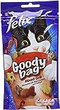 Felix Goody Bag Cat Treat Mixed Grill, 60 g - Pack of 8