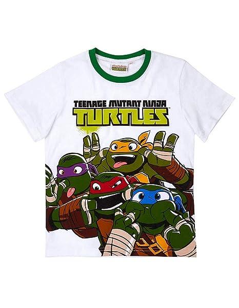Tortues Ninja - Camiseta de manga corta - Manga corta - para ...