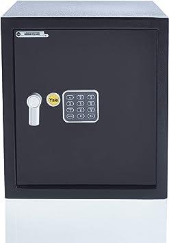 Yale YEC/390/DB1 YEC/390/DB1-Caja Fuerte con Alarma (tamaño Grande): Amazon.es: Bricolaje y herramientas