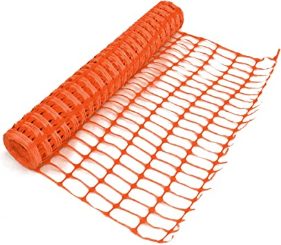 HEAVY DUTY PLASTIC BARRIER FENCING SAFETY MESH FENCE NETTING NET