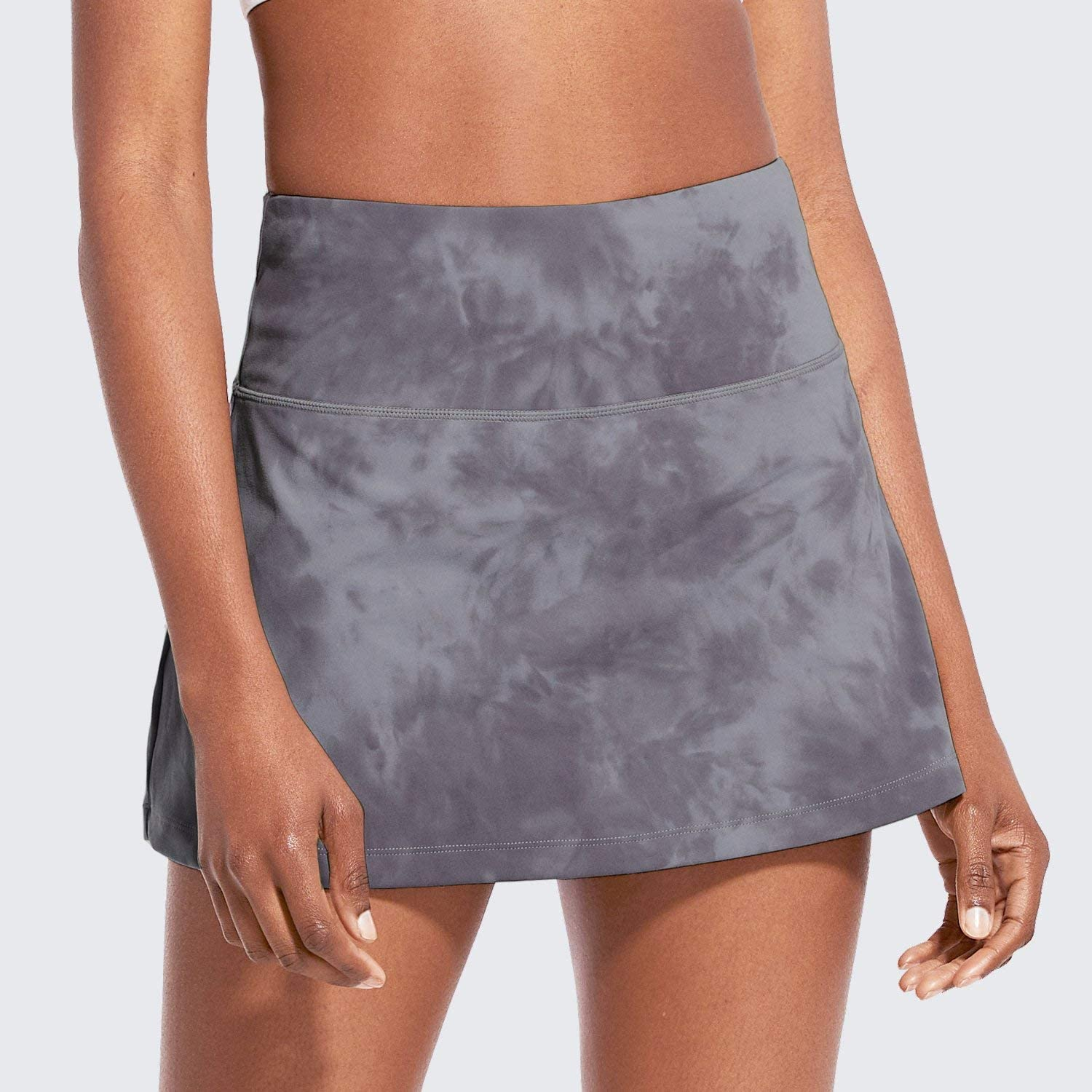 """BALEAF Women's 13"""" High-Waisted Tennis Skirts Summer Cute Golf Skorts with 4 Pockets for Casual Running Workout Sports: Clothing"""