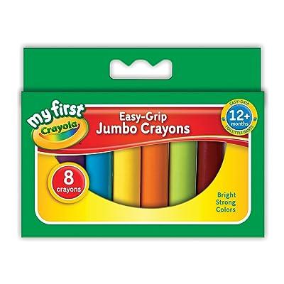 Crayola My First Crayola Jumbo Crayons (8 Pieces): Toys & Games