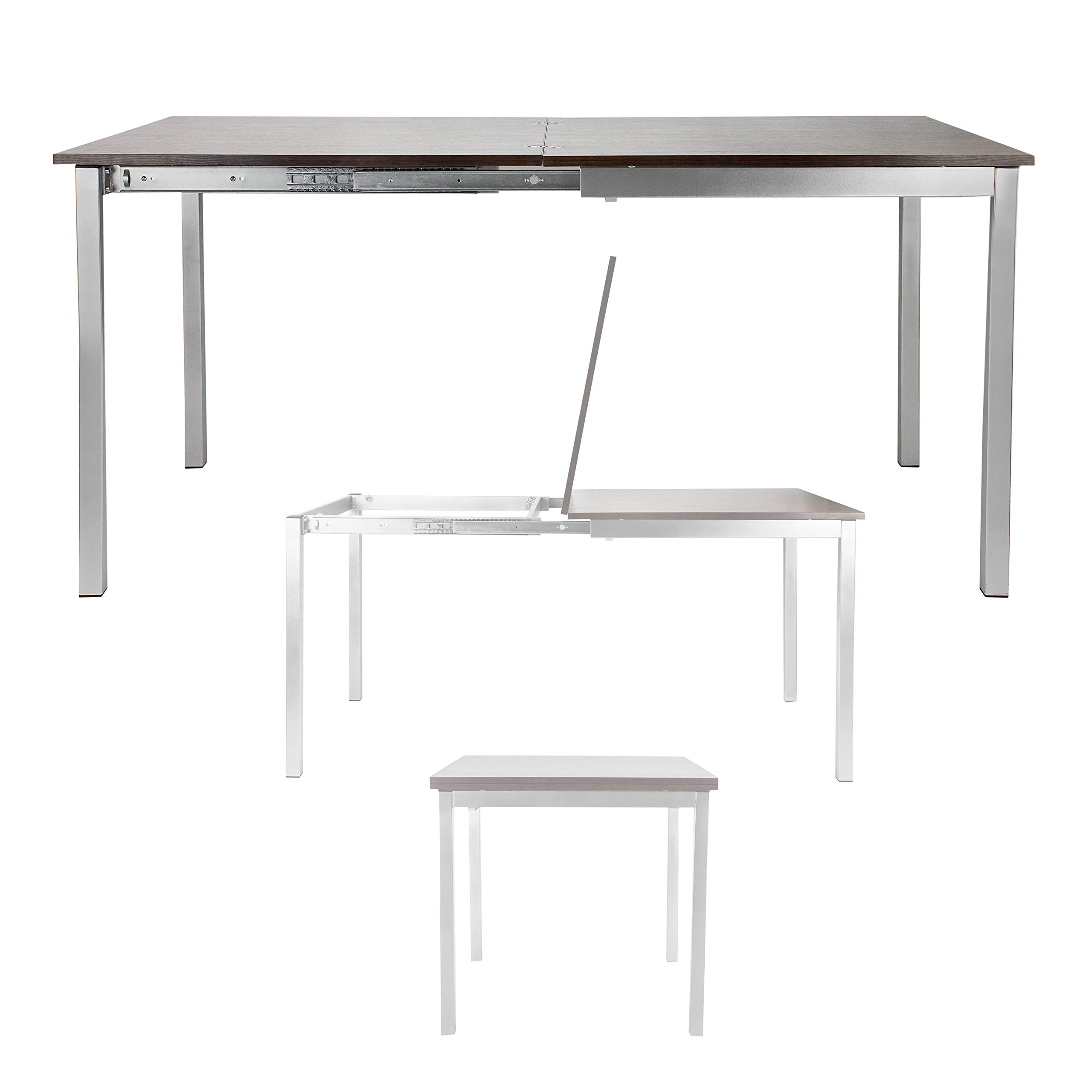 SpaceMaster Corner Housewares Easy Slide Dining Table, One Size by SpaceMaster