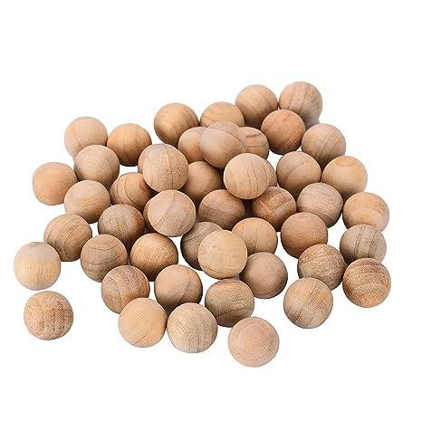 Bolas de madera de cedro repelente de polillas de cedro Bolas de madera de cedro repelente