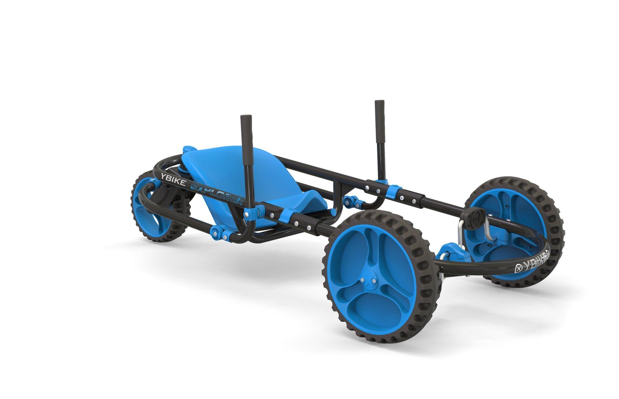 YBIKE Explorer Pedal Car, Blue/Black by YBIKE (Image #1)