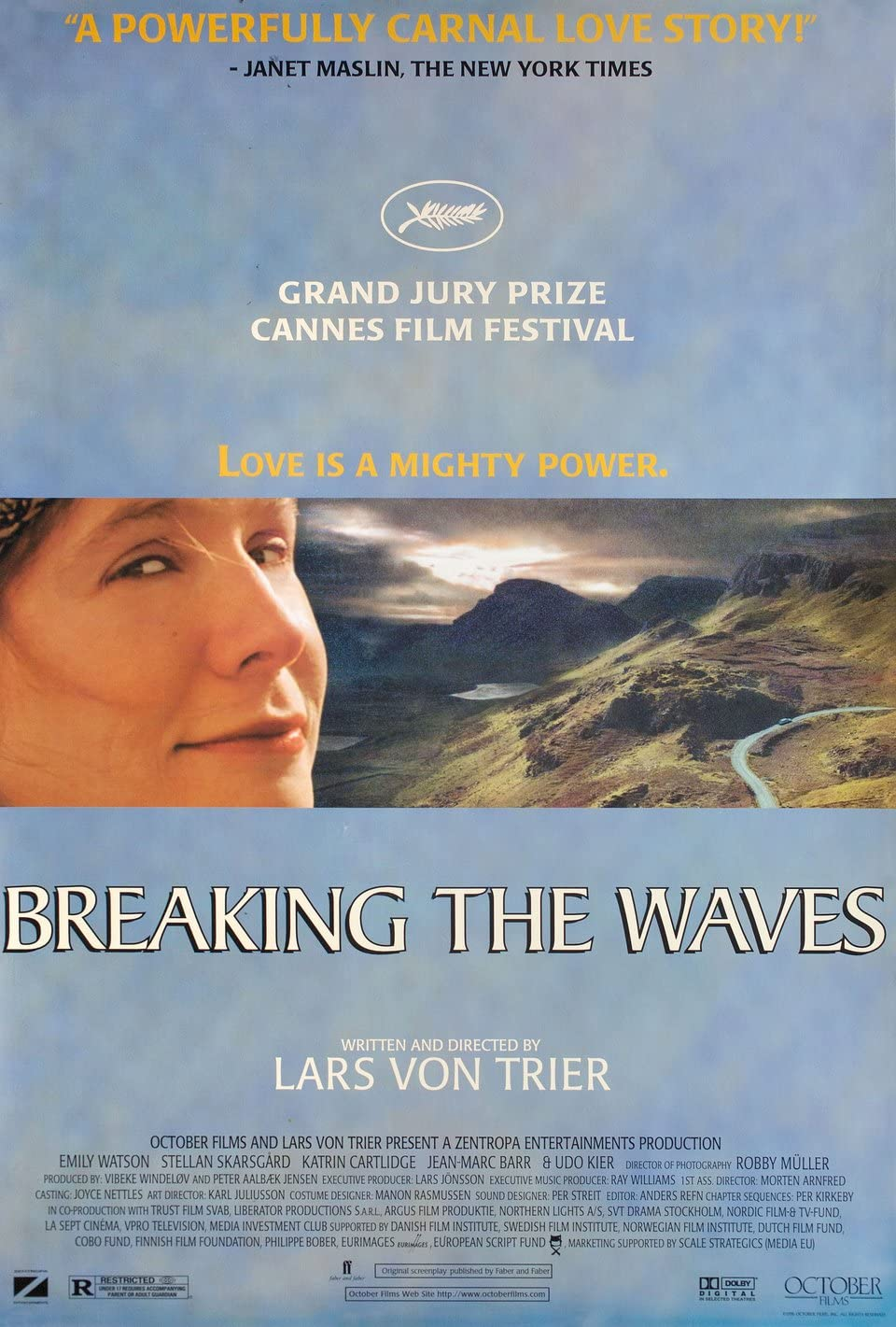 Breaking the Waves 1996 U.S. One Sheet Poster at Amazon's ...