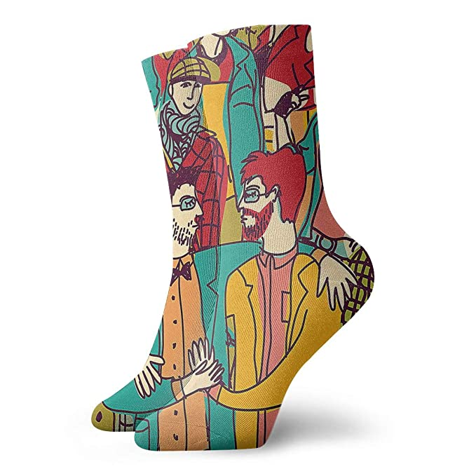 ef0c1e490 Light Venus Valentine s Day Couples Mens Printed Funny Novelty Casual Crew  Dress Socks For Womens Unisex at Amazon Women s Clothing store