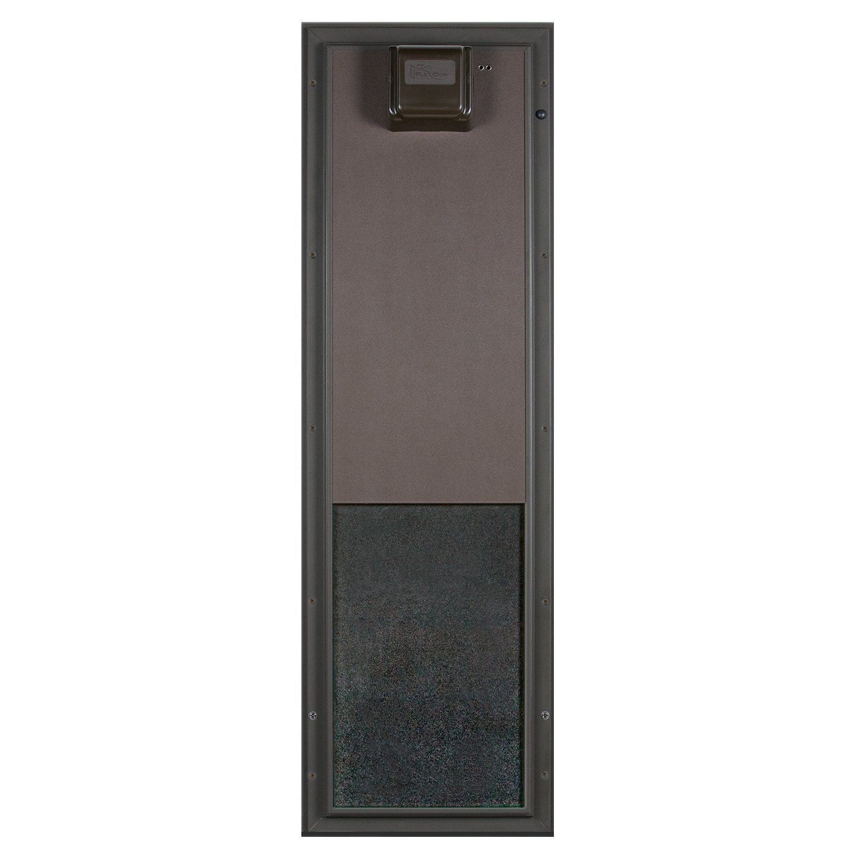 PlexiDor Performance Pet Doors Electronic Dog Door Large Bronze Door Mount by PlexiDor Performance Pet Doors