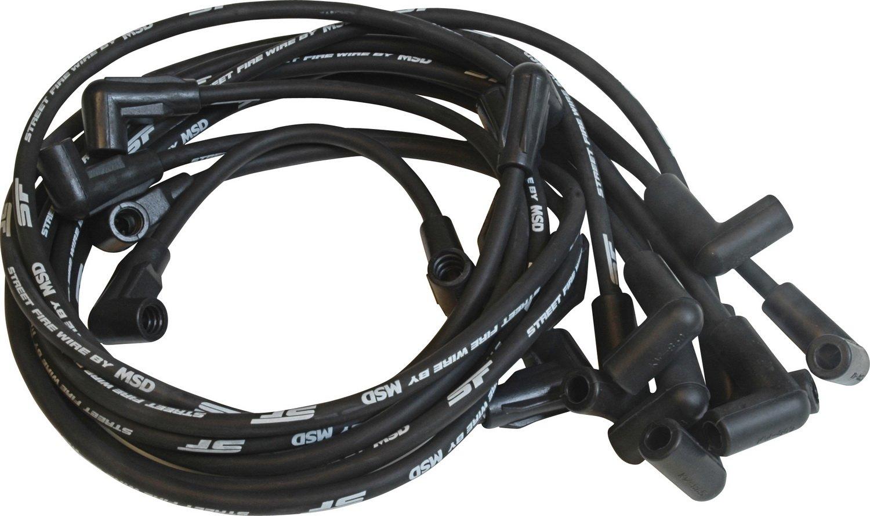 Amazon.com: MSD 5562 Street Fire Spark Plug Wire Set: Automotive
