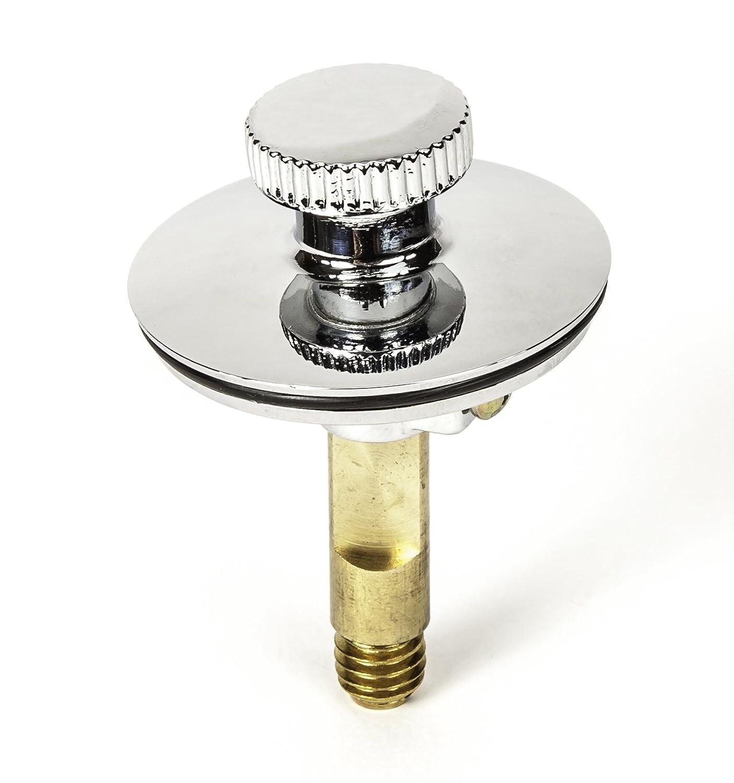 Bath Tub//Bathtub Drain Stopper includes 3//8 and 5//16 Fittings Twist Close No No Hair Catcher PF WaterWorks PF0950-ORB Universal Lift n Turn Oil Rubbed Bronze