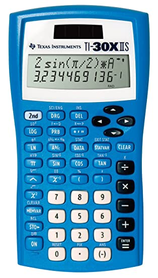 Amazon.com : TI-30X IIS Fundamental 2-line Scientific Calculator ...