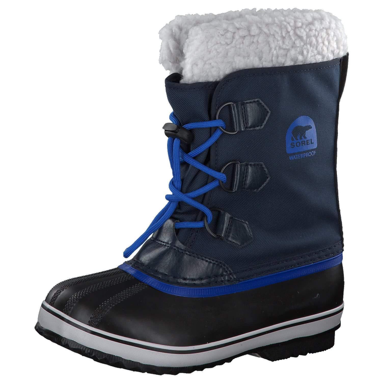 Sorel Yoot Pac Nylon Boot - Boys' Collegiate Navy/Super Blue, 6.0 by Sorel (Image #1)