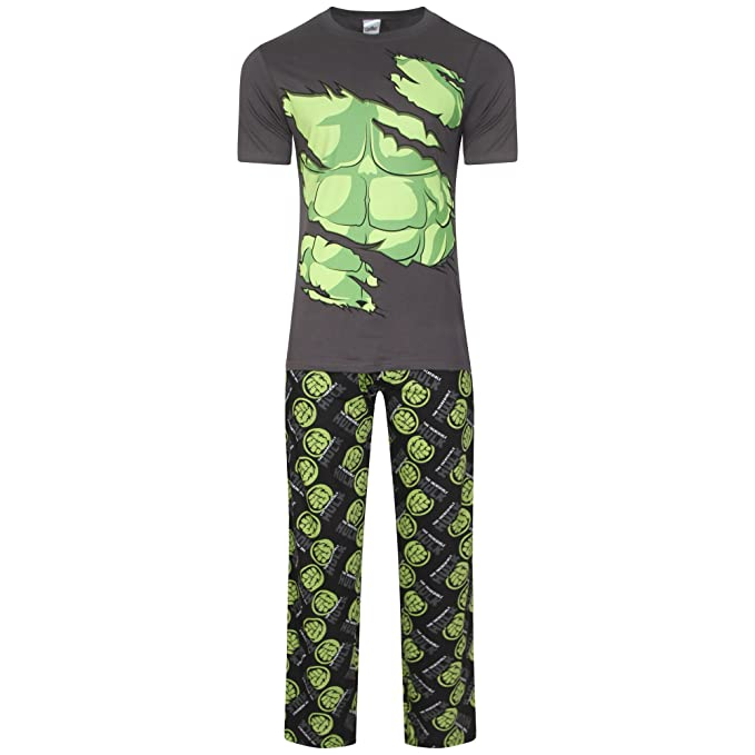 Super Hero - Pijama - para Hombre Hulk Large