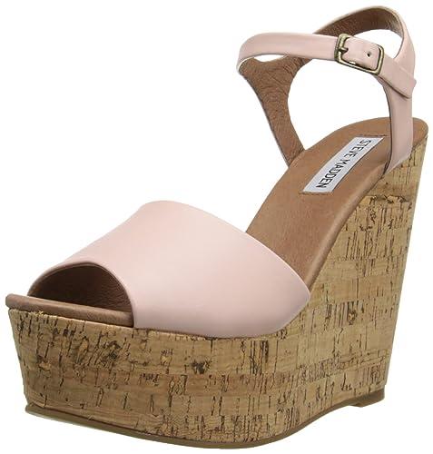 e3e6e5d6236 Amazon.com | Steve Madden Women's Korkey Wedge Sandal | Platforms ...