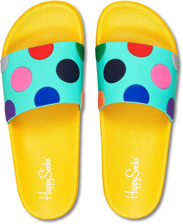 Happy Socks Pool Slider Slippers Size