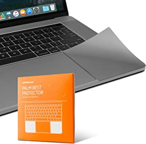 """UPPERCASE Premium Palm Rest Protector Skin Cover Set for MacBook Pro 15"""" 2016+ (Space Gray)"""