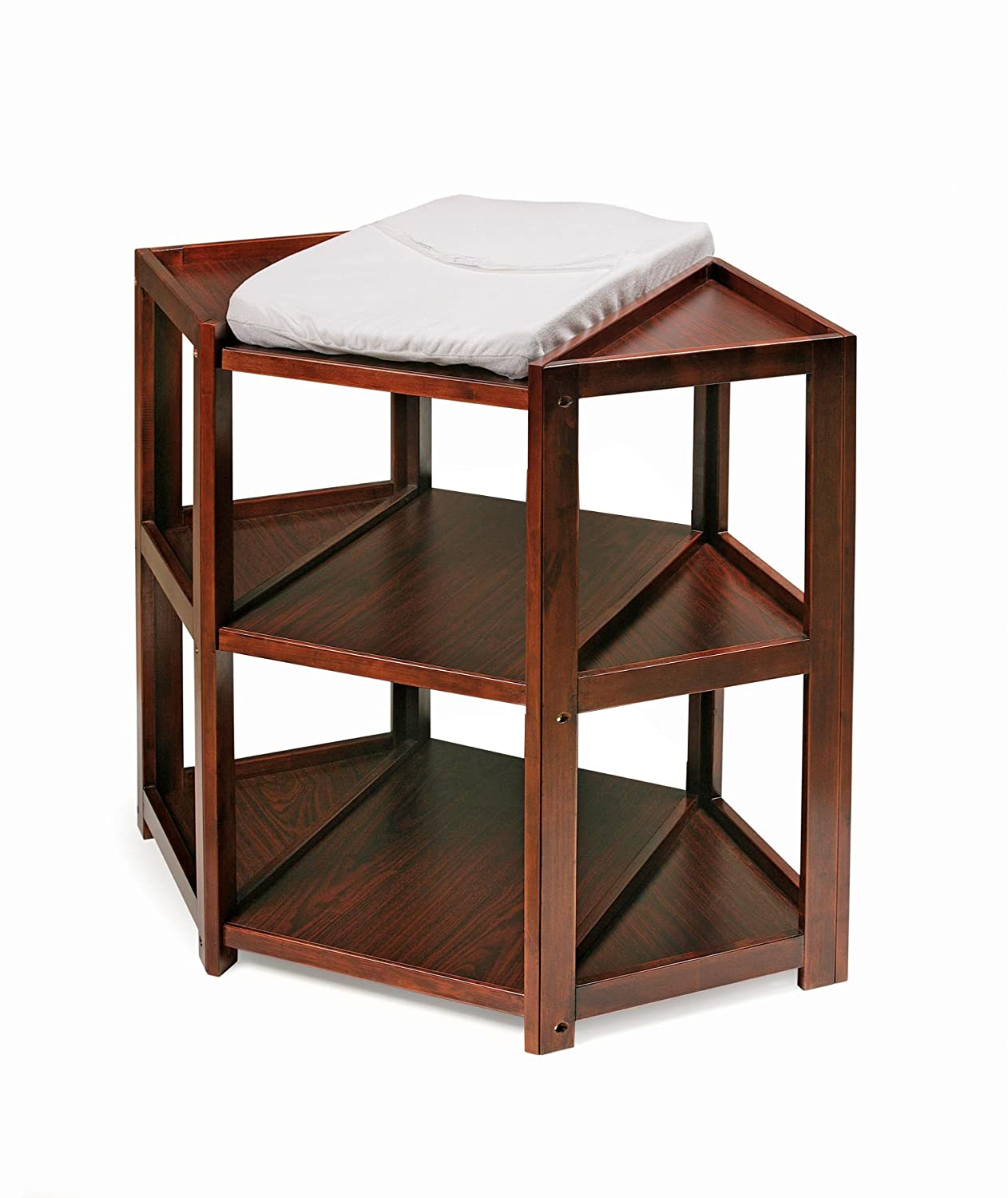 Lovely Amazon.com : Badger Basket Diaper Corner Changing Table, Cherry : Badger  Basket White Table : Baby